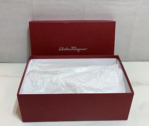 """Salvatore Ferragamo Empty Box 13.75"""" X 8.5"""" X 5"""""""