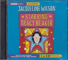 Jacqueline Wilson Starring Tracy Beaker 2CD Audio Book FASTPOST