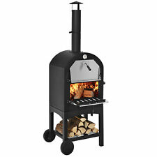 Outdoor Pizza Oven Wood Fire Pizza Maker Grill With Pizza Stone Amp Waterproof Cover
