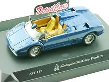 Detail Cars Art 113 Lamborghini Diablo Roadster blau 1/43 OVP 1601-16-94