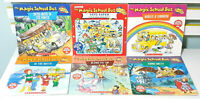 Lot of 6x The Magic Schoolbus Children's Fiction Books Based on the TV Series!