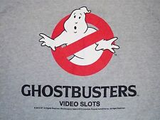 Ghostbusters Video Slots Who Ya Gonna Call? Ghost Busters! Halloween T Shirt XL