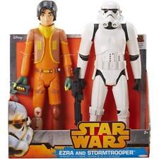 "NIB Star Wars Rebels Duo 20"" Storm Trooper & Ezra Action Figures"
