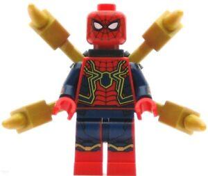 LEGO Super Heroes Minifigure Iron Spider-Man (76108) (Genuine)