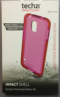 Tech21 D3O Impact Shell Case for Samsung G900 Galaxy S5 S5 Neo - Pink T21-4004