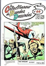 CBD n°66 -  Le Collectionneur de Bandes Dessinées. TEX WILLER - PUB et BD