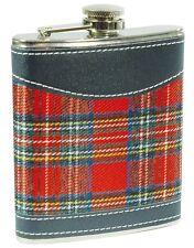 2 X Flachmann Scottish Highlands, 207 ml (7 Oz)  aus Edelstahl