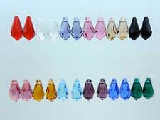 SWAROVSKI® Crystal Tear Drops 6000 11mm EIGHTEEN(18)pcs Color Assortment,Genuine
