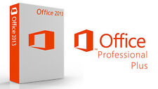 ORIGINALE Office Professional Plus 2013 32/64bit CODICE di licenza PC di scarto