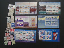 Greenland Collection Much Modern Mnh Stamps And Souvenir Sheets