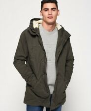Superdry Winter Rookie Military Parka Jacket - Size Small RRP £99