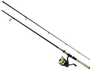 "Daiwa DSK25-B/F662M D-Shock 2 Piece Spinning Combo Fishing Rod 6'6"""