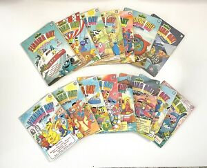 Vintage The Sesame Street Finding Out Encyclopedia Complete Set 15 x Books A - Z