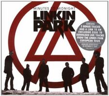 LINKIN PARK MINUTES TO MIDNIGHT CD ALBUM (European Tour Edition 2007)