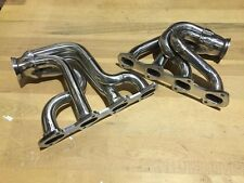 Ford Mustang 281 STAINLESS Twin Turbo Headers cobra V8 4.6 SALEEN GT SHELBY 4.6L