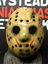 ! oferta! viernes Deluxe 13TH parte 8 Máscara De Jason Toma personalizado de Manhattan, réplica, PETG.