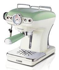 Macchina caffè espresso Ariete Vintage caffé verde cappuccino 1389/1 - Rotex