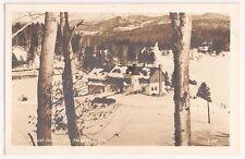 Manoir Saint Castin, Lac Beauport Quebec Canada RPPC Vintage