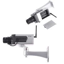 Wireless Dummy IP Camera Fake Monitor Motion Detection LED Surveillance Webcam