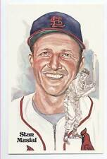 SUPER SPECIAL - SUPERB STAN MUSIAL Unsigned Perez Steele POST CARD
