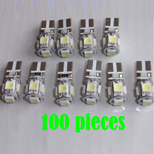 Wholesale 100 X Error Free CANBUS T10 5 5050 SMD LED w5w 194 light bulb Lamp PCB