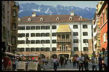 383042 Golden Roof Innsbruck Austria A4 Photo Print