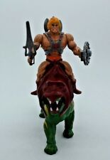 He-Man, BATTLECAT, MOTU, Masters Of The Universe, Vintage Figure Mattel