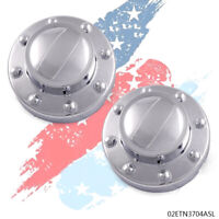 REAR Center Cap PAIR For 2011-2018 DODGE RAM 3500 Dually 1-ton Truck Alcoa Wheel