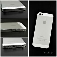 White Complete Housing Back Battery Cover+Mid Frame Assembly for iPhone 5 (USA)