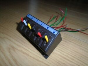 Peco Switch Console Unit & Lever Switches for Hornby Model Railway Train Sets