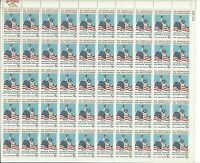 ORLEY US STAMPS #1320 We Appreciate Our Servicemen; Sheet Fifty 5c Stamp MNH/OG,