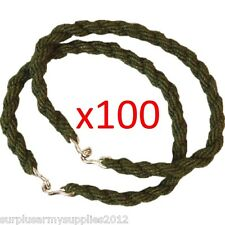 100 PAIRS ARMY TROUSER TWISTERS 35p EACH TWISTS CADET MILITARY TRADE WHOLESALE