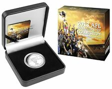 2013 AFL Premiership Collection - Hawthorn Football Club- 1oz Silver Proof Coin