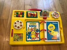 Sesame Street Babies Baby Activity Toy Tyco Vintage Yellow Activity Center