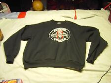 8th WONDER HOUSTON WHEELERS Black Pull Over Sweat Shirt Size XL