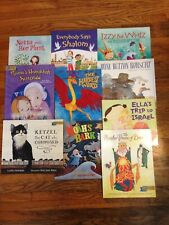 Lot of 10 Jewish Children's Books PJ Library Holiday, Culture Themes Illustrated