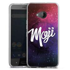 HTC U11 Life Silikon Hülle Case - Moji Galaxy