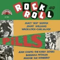ROCK AND ROLL PILLS  VINYL LP ROCK ROCK'N'ROLL NEU Jimmy Williams Jean Chapel