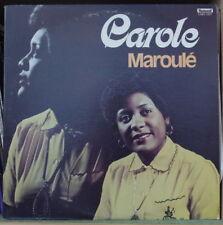 CAROLE MAROULE VODOU HAITI MAMBO US PRESS LP DISQUES FLEETWOOD 1978