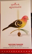 HALLMARK 2015 THE BEAUTY OF THE BIRDS #11--WESTERN TANAGER