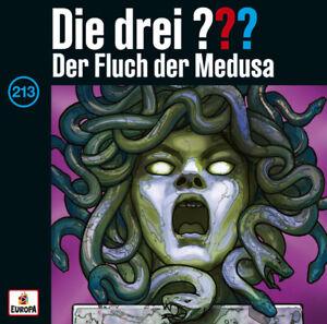 Die drei ??? Fragezeichen - Folge 213: Der Fluch der Medusa (CD)ab 26.11.21