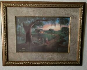 John Avant Fine Art t Louisiana Cajun Country Limited Edition # 26 Out Of 300