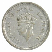 SILVER - WORLD Coin - 1944 India 1 Rupee - World Silver Coin *845