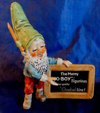 GOEBEL The Merry CO-BOY FIGURINES DEALER SIGN TMK-6 1979-1990