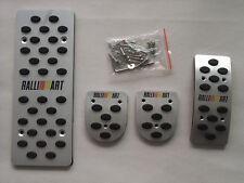 MT Aluminum Car Fuel Sports Foot Plate Pedals Cover Fit for Mitsubishi Outlander