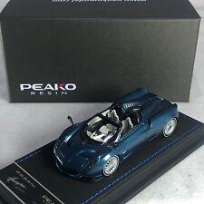 1/43 Peako Pagani Huayra Roadster Blue Carbon Ltd 100 pcs 31116