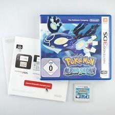 Pokémon: Alpha Saphir | Nintendo 3DS |Mit OVP & Anleitungen| Sehr gut