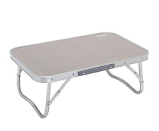 Outdoor Small Camping Table Lightweight Folding Easy Carry Set Up Picnic Beige