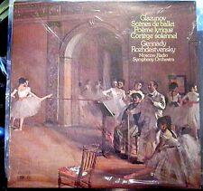 Glazunov/Rozhdestvensky  Scenes; Poeme Lyrique; Cortege  Melodiya/Angel