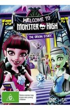 MONSTER HIGH THE ORIGIN STORY WELCOME TO MONSTER HIGH NEW SEALED DVD